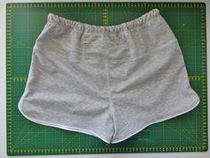 spodenki biegowe - tutorial; running shorts