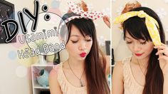 ◕‿◕ DIY: Usamimi {Rabbit Ear} Head Band - now I can make all the ears @✩ a twisted mind wants <3