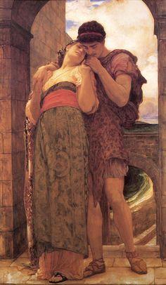 Lord Frederick Leighton Paintings | Art Renewal Center :: Lord Frederick Leighton :: Wedded