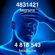 Grabovoi Code for Headache & Migraine. Self Healing, Chakra Healing, Headache Cure, Healing Codes, Switch Words, Reiki Symbols, Spiritual Messages, Magic Words, Coding