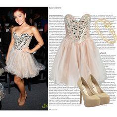 """Ariana Grande's Style"" by jovanovska-marta on Polyvore"