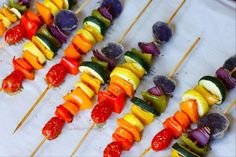 Rainbow-Veggie-Skewers