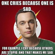 Dr Sheldon Cooper everyone....