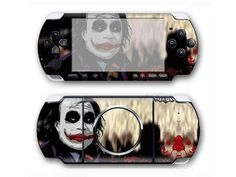The Jocker PSP 3000 sticker for PSP 3000 console. Choose your favorite design from a huge range of PSP 3000 stickers collection for PSP 3000 console. Xbox One Skin, Console Styling, Joker, Ps4 Skins, Stickers, Psp, Games To Play, Decals, Lunch Box