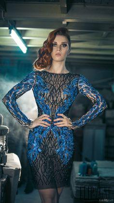 Charbel Zoe Autunno-Inverno 2014-2015 - Alta moda - http://it.flip-zone.com/fashion/couture-1/independant-designers/charbel-zoe-4849