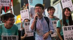 "Nathan Law, a young activist in Hong Kong, denies seeking independence. ""I'm not advocating independence, I'm advocating Hong Kong people should enjoy [their] rights of self-determination,"" he said."
