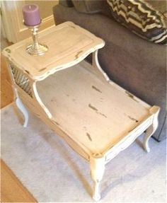 Soldier58   Chippy Two Tier Side Table, $62.50 (http://