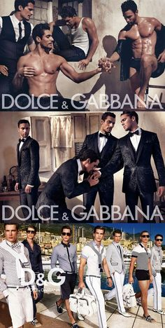 Dolce & Gabbana Menswear Collection & More Details
