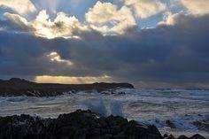 Breezy afternoon in Saligo Bay (4), Isle of Islay