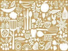 mod kitchen by Jennifer Judd-mcgee