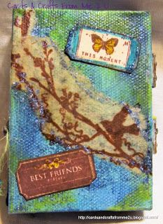 Unruly PaperArts: Dimensions from Me 2 U: A Tiny Bit of Rust by Nicie Ibarra