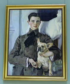 Painting of Prince Felix Felixovich Yusupov in the Moika Palace, Saint…
