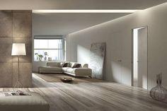 Puertas Batientes - Essential - Scrigno: estructura puerta corredera, revestimiento vinilo o lacadas, con bisagras pivotantes, herrajes y cerraduras
