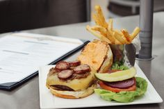 Kick your #burger up a notch with the Creole burger at Lagasse's Stadium in #Vegas. Bam!