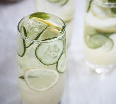 Think of everything you can do by using a superb container of gin, listed below are 20 delectable and easier gin situated cocktails. Summer Cocktails, Cocktail Drinks, Gin Collins, Ginger Mule, Gin Drink Recipes, Quick Easy Meals, Cucumber, Toms