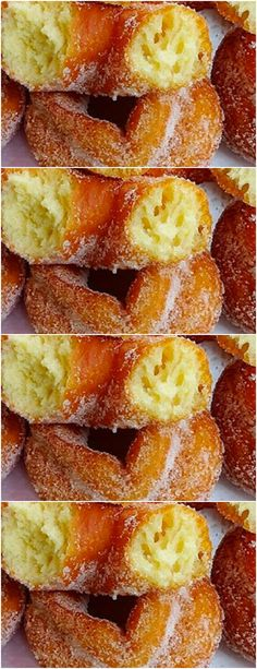 Churros, Food Network Recipes, Cooking Recipes, Donuts, Brunch, Food And Drink, Tasty, Sweets, Bread