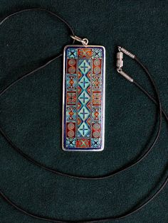 Hey, I found this really awesome Etsy listing at https://www.etsy.com/listing/229090971/cloisonne-enamel-necklace