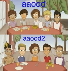 The Adventurous Adventures of One Direction. I think harry looks the same