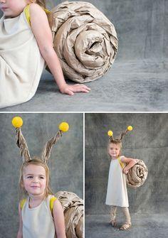 halloween kostüme selber machen schnecke