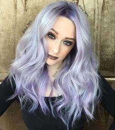 Purple Hair Designs