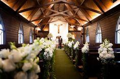 little chapel - wedding day