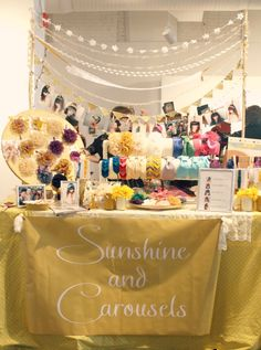 Carosello: Craft Show Mania - An Indie Emporium Display
