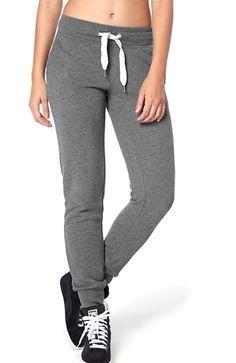 Fede ONLY Sweatshirtbukser Finley M?rk gr?meleret ONLY Underdele til Dame i luksus kvalitet