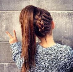 Braided Ponytail