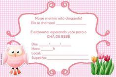 Convite para Chá de Bebê Virtual continue vendo...