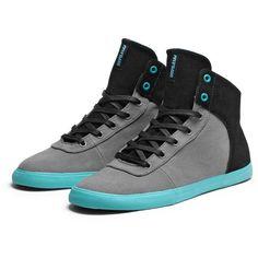 SUPRA CUTTLER Shoe | BLACK WRINKLE FULL GRAIN | Official SUPRA Site ($76) ❤ liked on Polyvore