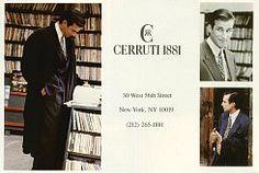 Cerruti 1881 Mens Fall 1988