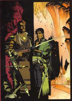 MIKE MIGNOLA, Fafhrd and the Grey Mouser