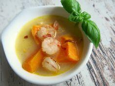 Kropla Oliwy: Tajska zupa z batatami i krewetkami