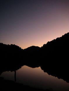 Sunset at Pang Oung