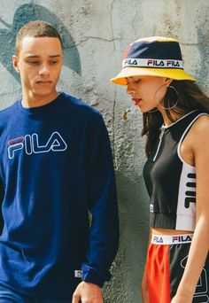 Fila SS16 fashion editorial | streetwear, sportswear, sport chic, spring summer 2016