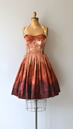 West Indies Sunset dress vintage 1950s dress by DearGolden