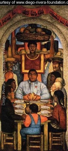 Our Bread 1928 - Diego Rivera - www.diego-rivera-foundation.org