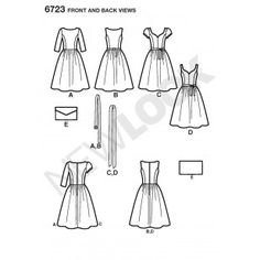 6723 - New Look Patterns