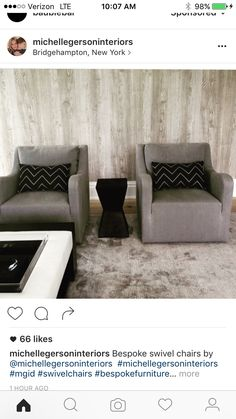 Bespoke Furniture, Swivel Chair, Dining Bench, Throw Pillows, Living Room, Storage, Bed, Interior, Home Decor