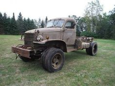 Chevrolet : Other Pickups 1 Very Rare!!  1942 Chevy CCKW Military truck with dual front tires! - http://www.legendaryfind.com/carsforsale/chevrolet-other-pickups-1-very-rare-1942-chevy-cckw-military-truck-with-dual-front-tires/
