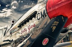 One of my own images from a recent visit with some fine vintage aircraft.