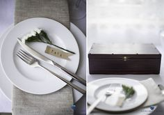 ŚLUBNE DEKORACJE: Aranżacja stołu z białą porcelaną + skrzynka na koperty DIY | Conchita Home Tableware, Kitchen, Diy, Home, Porcelain Ceramics, Dinnerware, Cooking, Bricolage, Tablewares