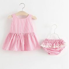 Dress your little girl with this fashionable outfit made with the best cotton and finest polyester and is very breathable to wear. Pink Kids, Little Girls, New Year Gifts, Moving Forward, Girly, Rompers, Fashion Outfits, Summer Dresses, It's Monday