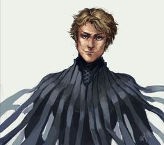 Fanart of Kelsier from Mistborn.  The eyes are perfect...