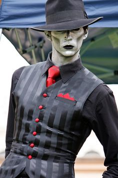 The Spine from Steam Powered Giraffe    -his voice is magic-   I am not attracted to this man in the slightest no I'm not, no