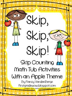 Hello Everyone! We are working hard this week on skip counting. I decided I needed to put together some math tub activities for next week....