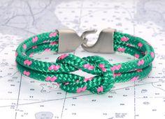 Lemon & Line Newport Kelly & Pink Bracelet