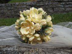 Bridal bouquetpaper flower bouquetwedding от Mazziflowers на Etsy