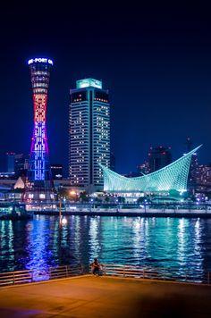 Kobe Port Tower, Hyogo, Japan 神戸ポートタワー