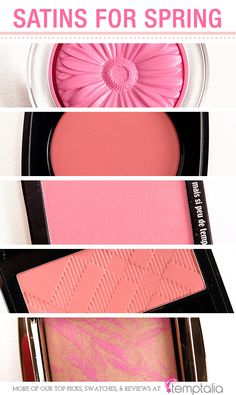 5 Beautiful Blushes for Spring